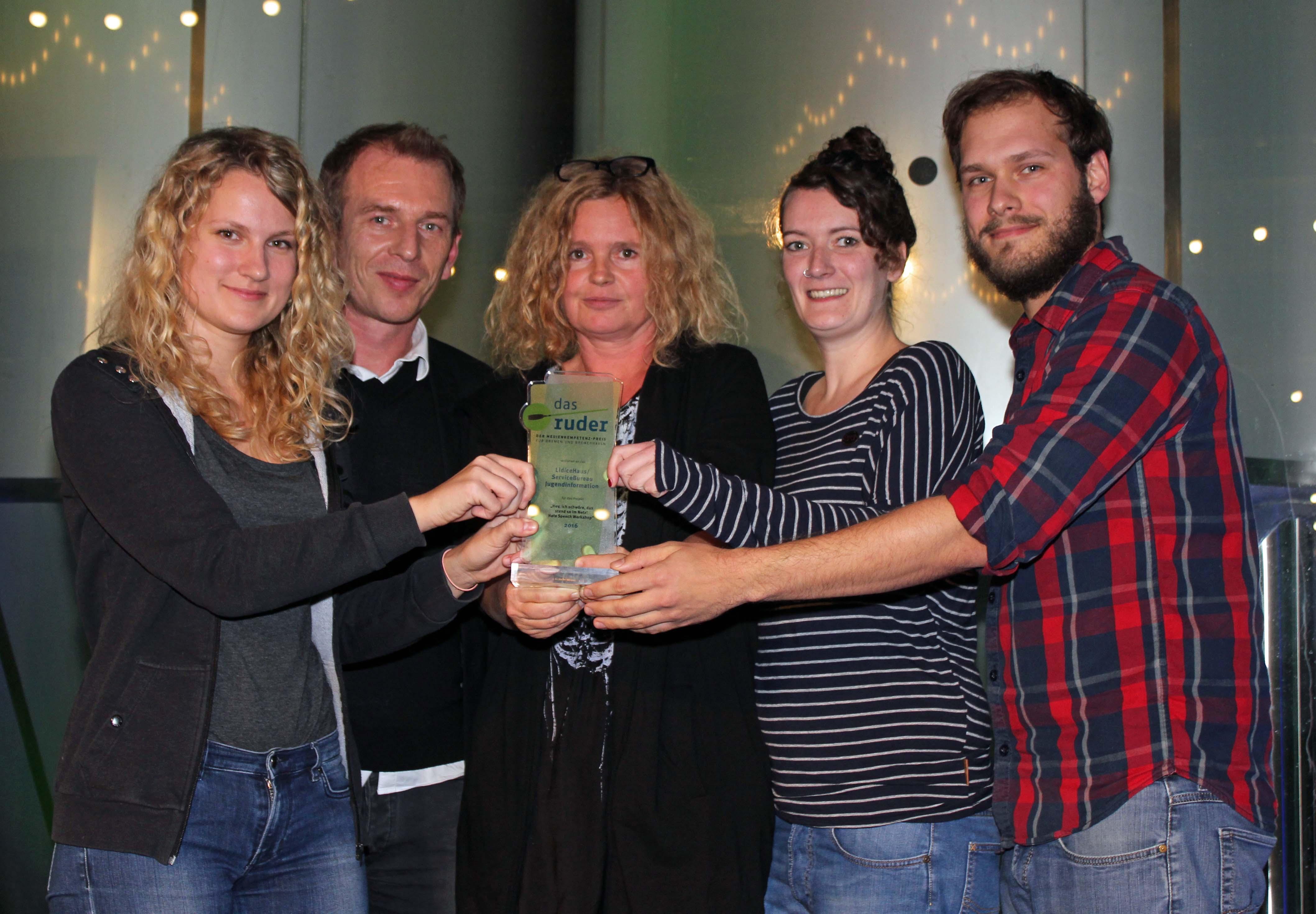 Preisträger Das Ruder 2016 Service Bureau Jugendinformation