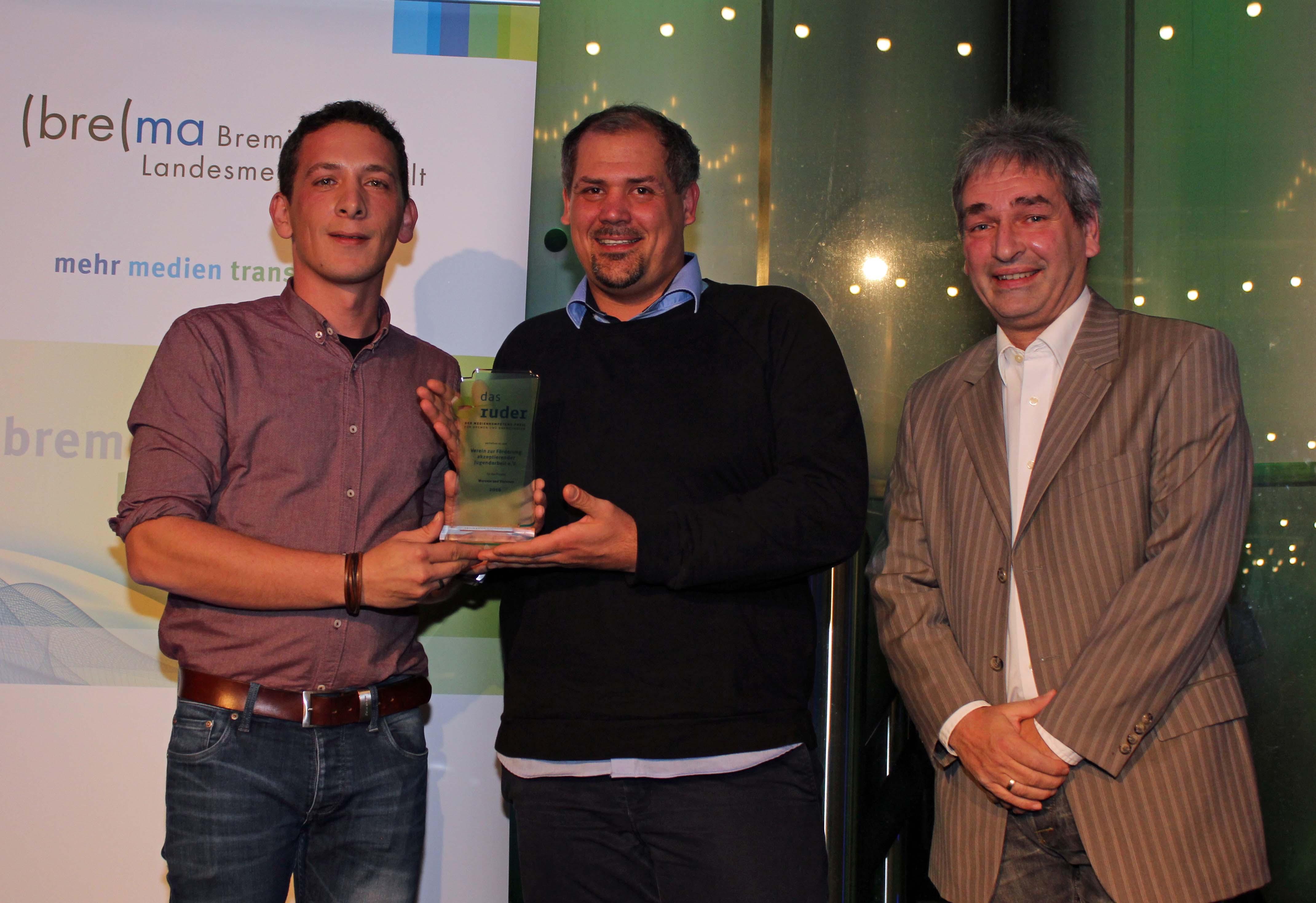 Preisträger Das Ruder 2016 VAJA e.V.