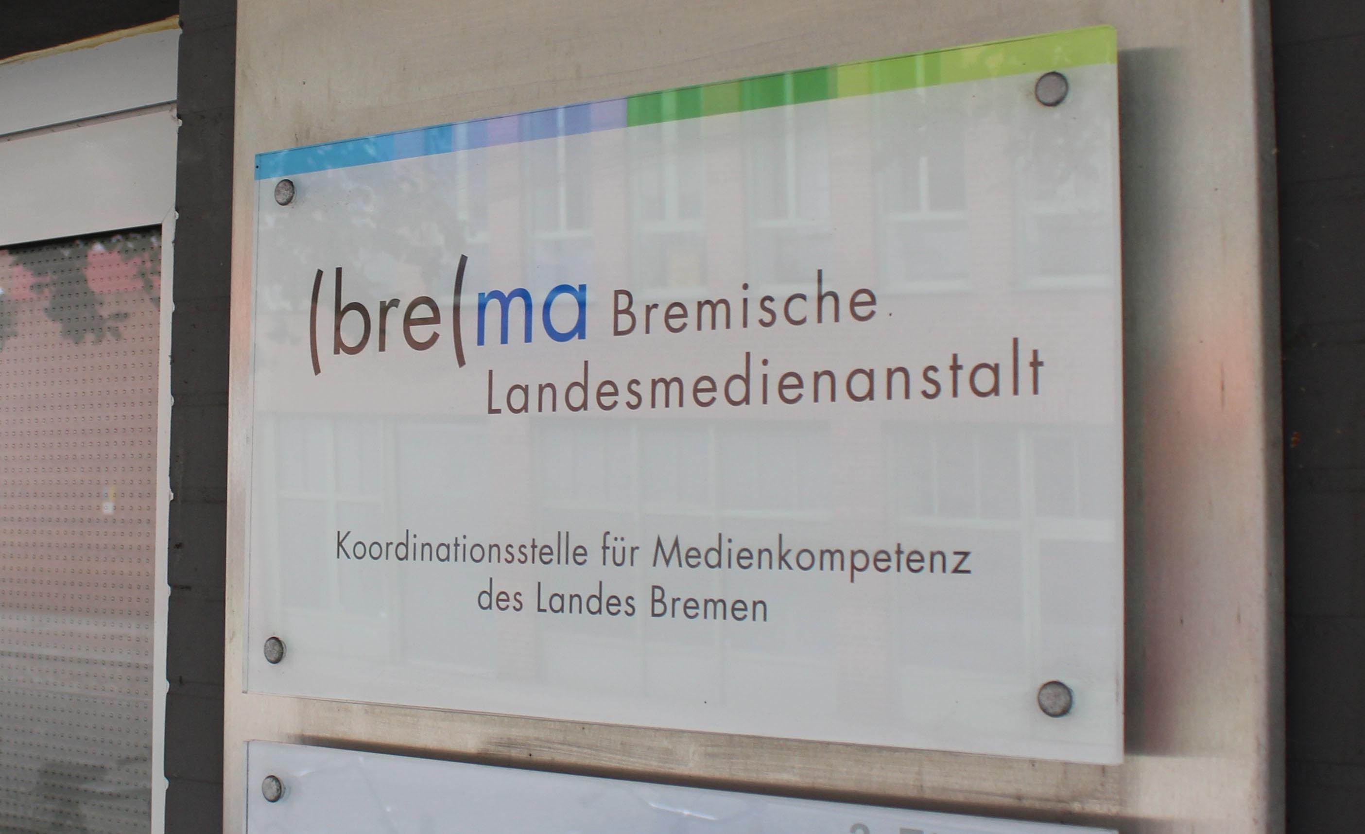 Eingang Bremische Landesmedienanstalt