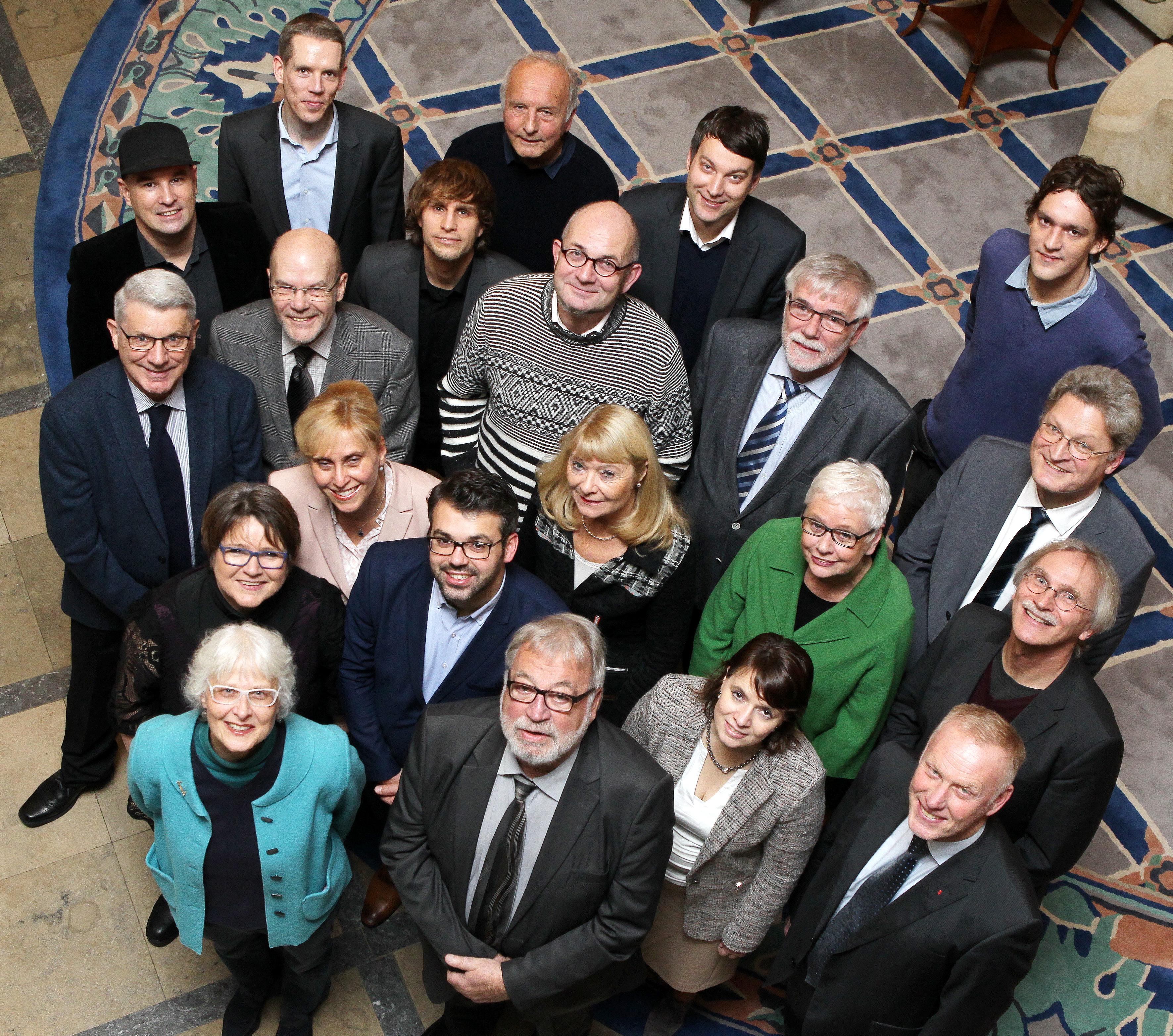 Mitglieder des Medienrates der Brema