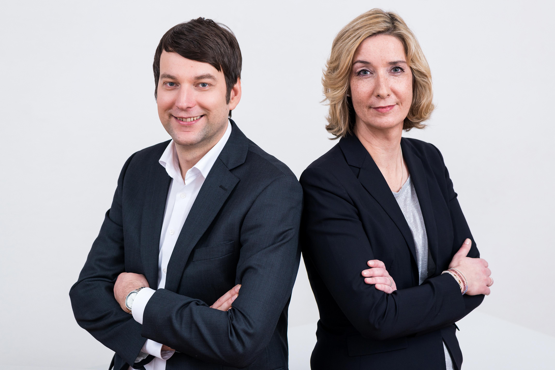 Cornelia Holsten und Robert Hodonyi