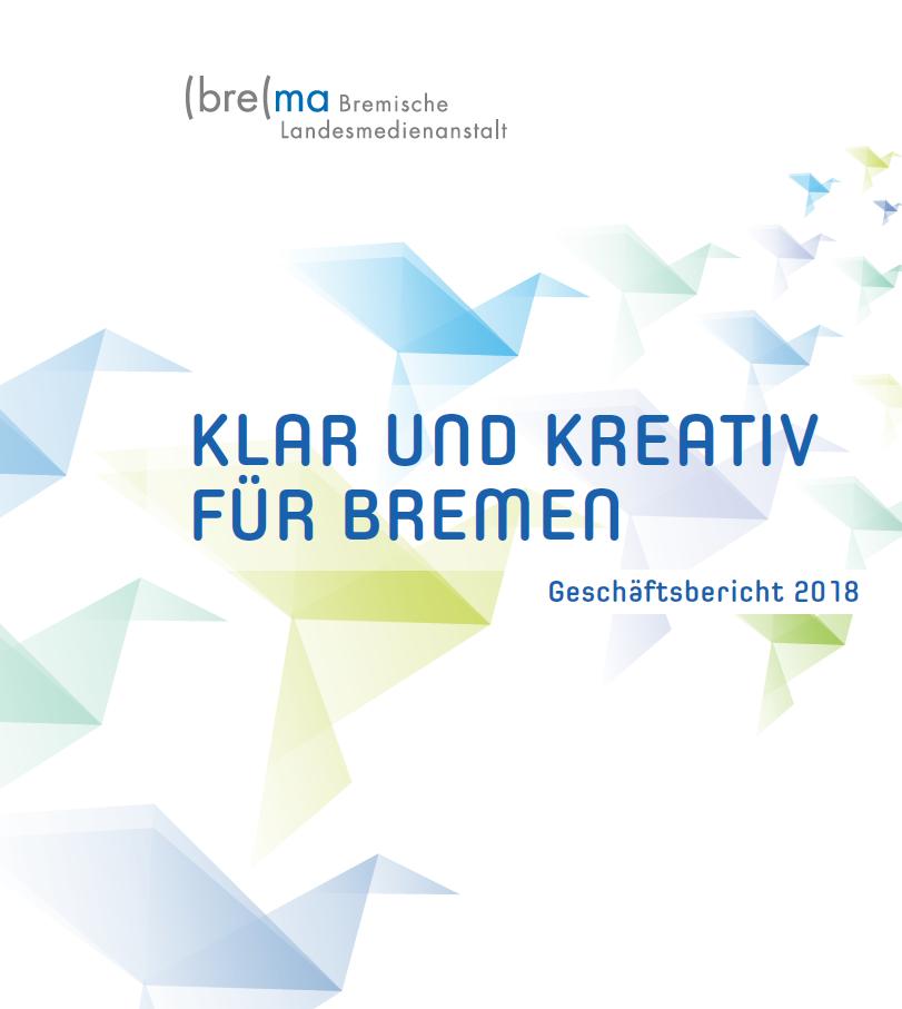 Geschäftsbericht 2018 Deckblatt