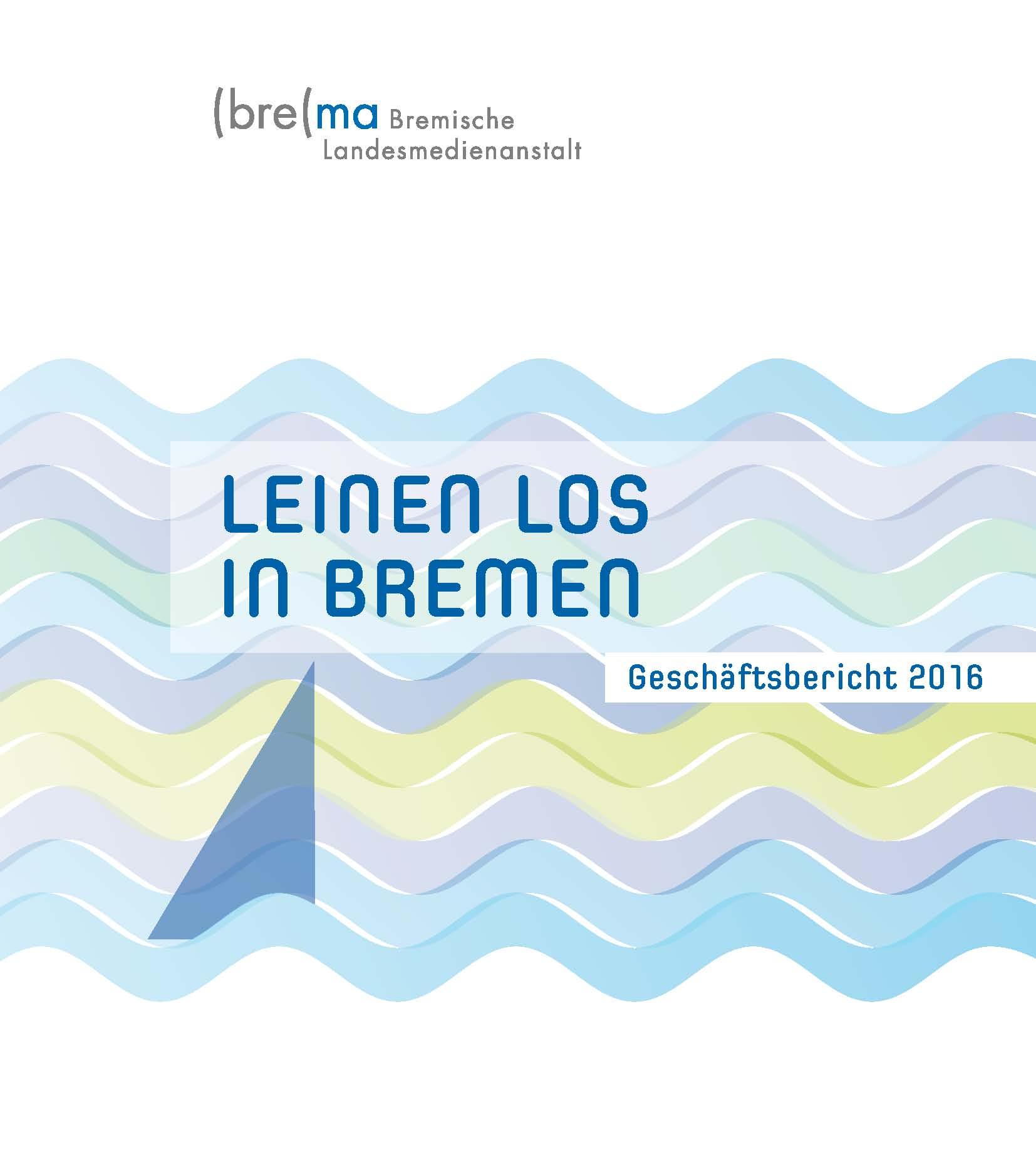 Titelbild des Geschäftsberichts 2016