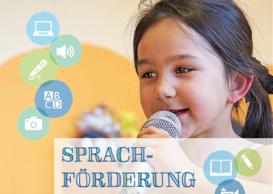 Ausschnitt Broschüre Sprachförderung in der Kita