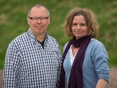 Markus Gerstmann und Sabine Heimann vom Servicebureau